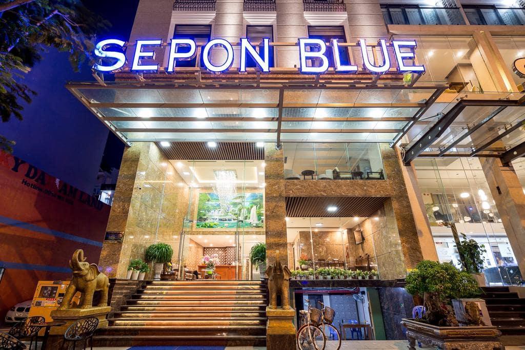 Khách Sạn Hot Tại Đường Võ Văn Kiệt- Khách sạn Sepon Blue Hotel Đà Nẵng