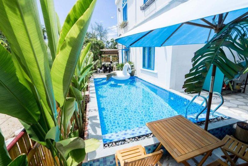 Villa có hồ bơi riêng Hội An