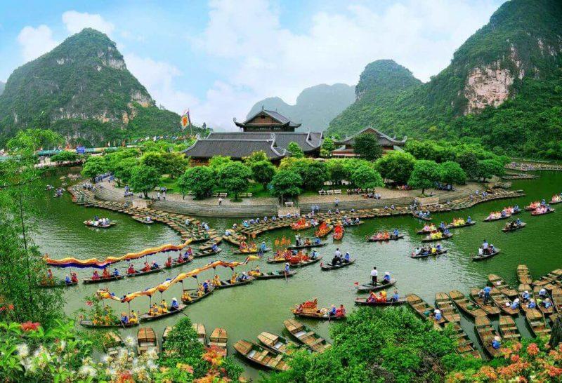 Tràng An - Tam Cốc - Bích Động - Điểm du lịch Ninh Bình