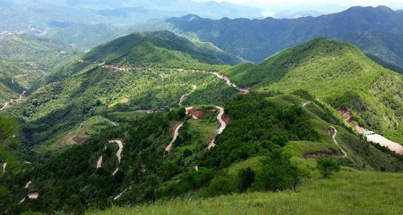 Du lịch núi ở Quảng Ninh