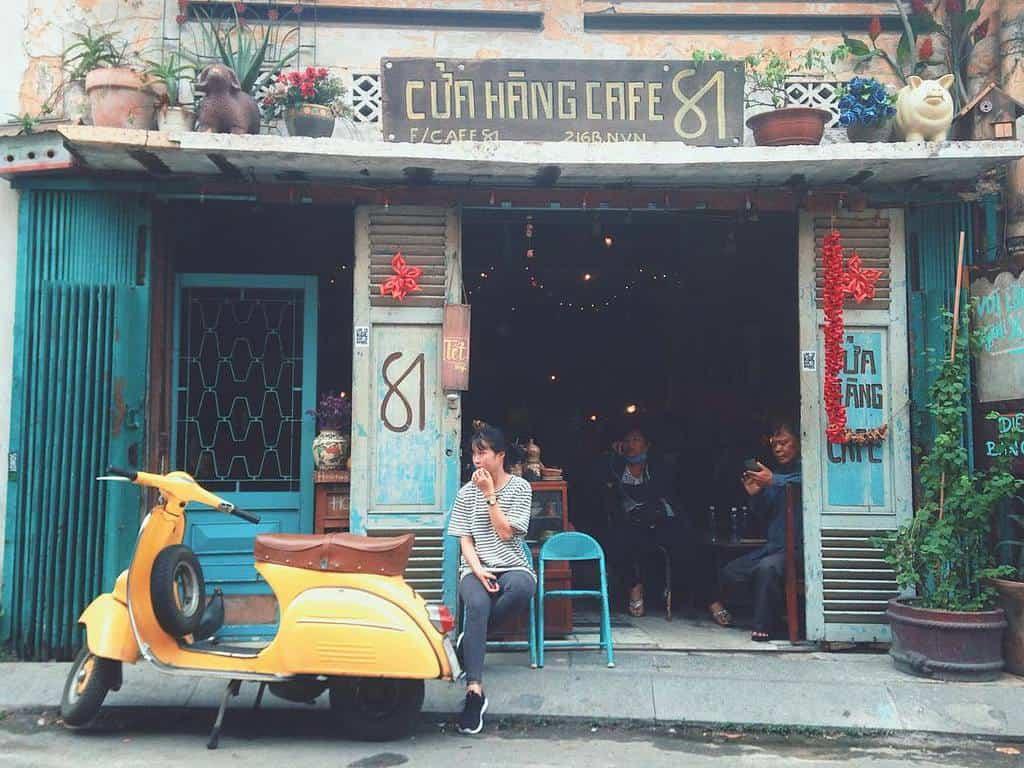 quán cà phê trứng ở sài gòn