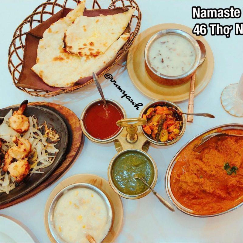 Namaste India – Nhà Hàng Ấn Độ Đặc Sắc Ở Sài Gòn