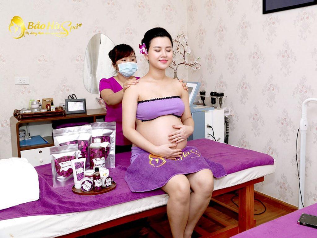 Spa dành cho bà bầu ở Hà Nội