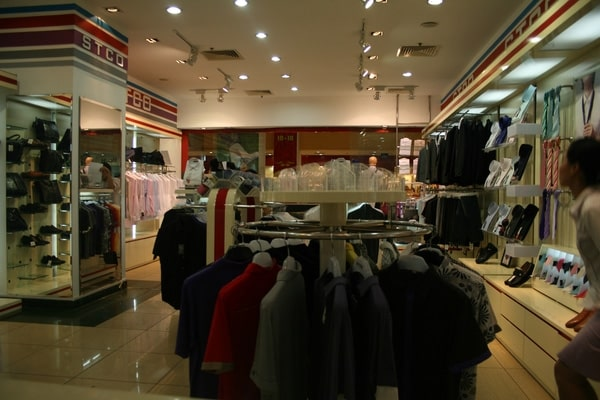 Cửa hàng bán comple ở Hà Nội