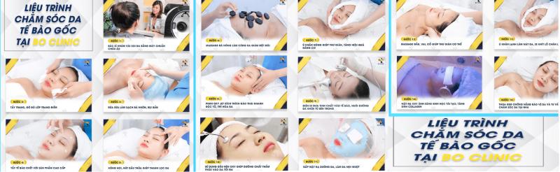 spa chăm sóc da mặt ở sài gòn