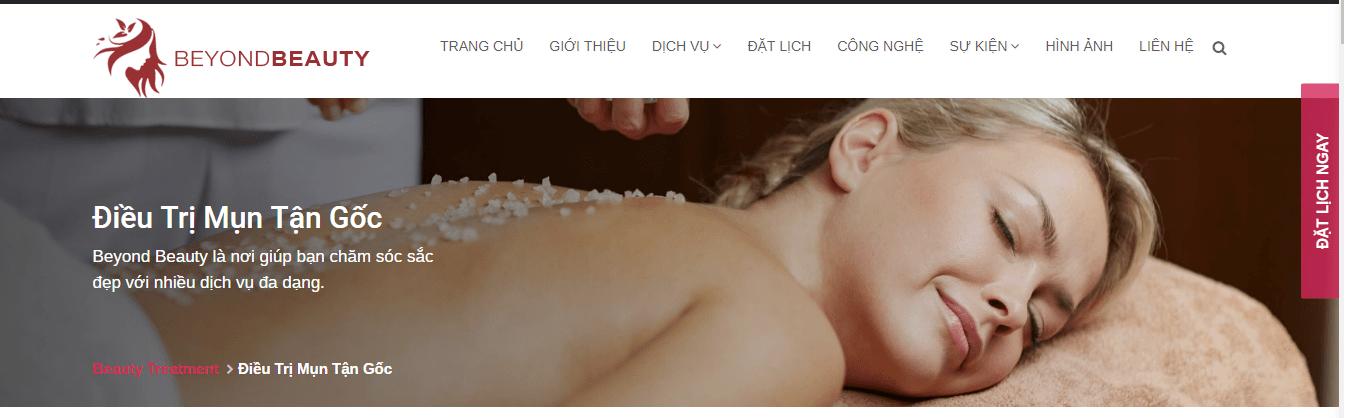 spa trị mụn hiệu quả ở sài gòn