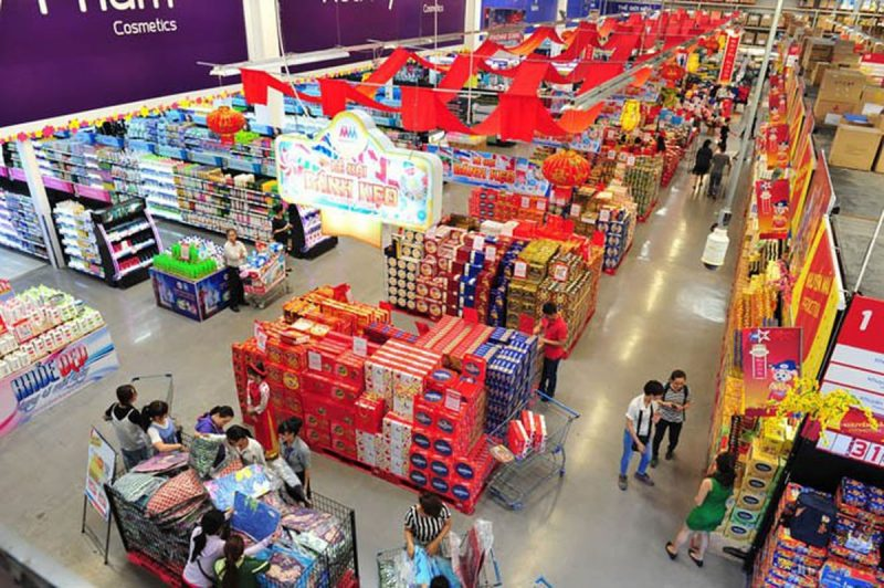 chuỗi siêu thị ở sài gòn