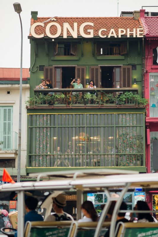 quán cafe đẹp ở Hà Nội gần bờ hồ