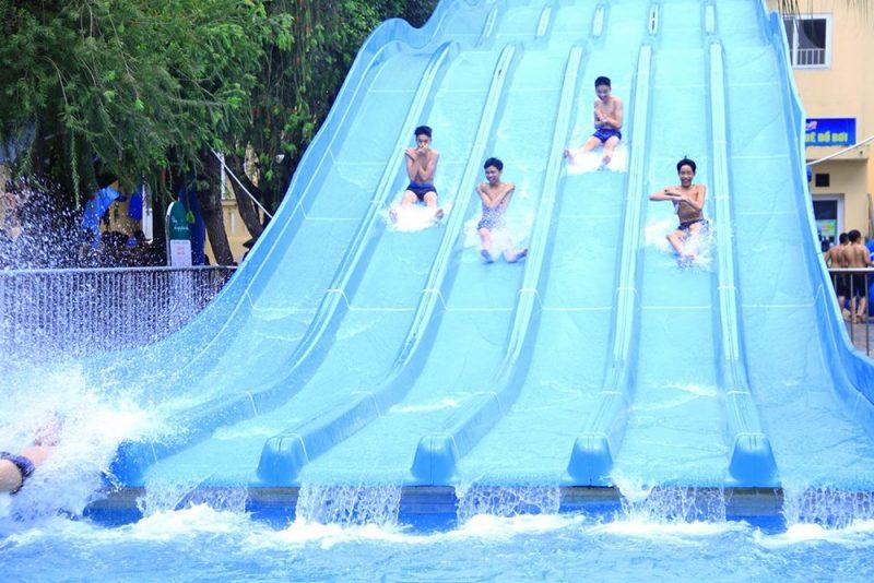 khu vui chơi mạo hiểm ở Hà Nội