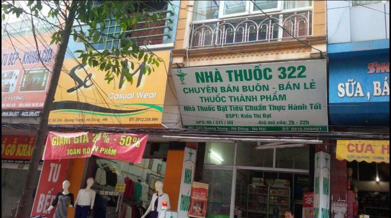 Hiệu Thuốc Hà Đông Hà Nội