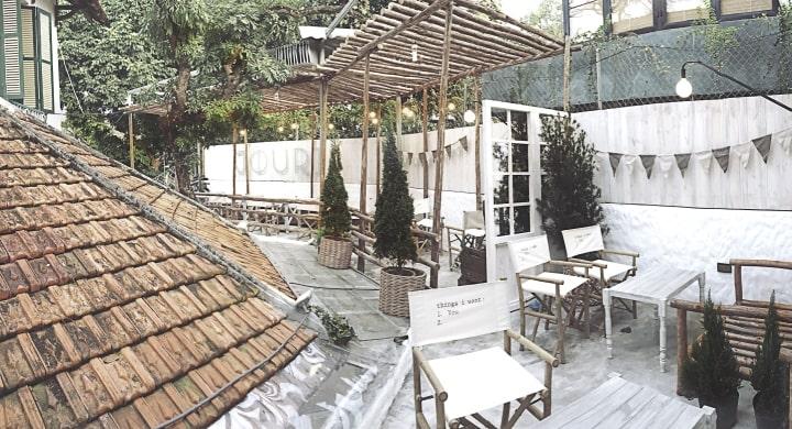 quán cafe ngoài trời hà nội