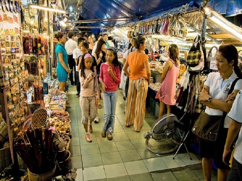 chợ nổi tiếng sài gòn