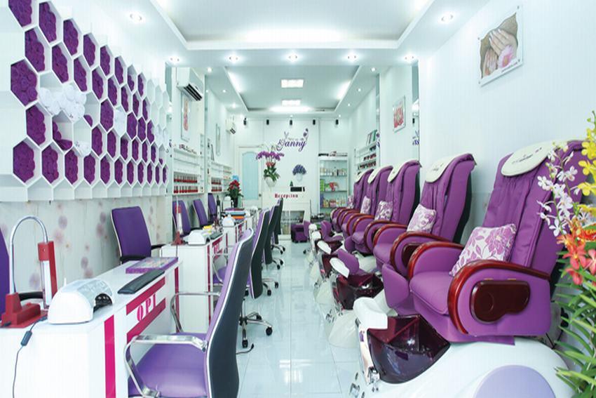 tiệm làm nail Sài Gòn Quận Tân Bình