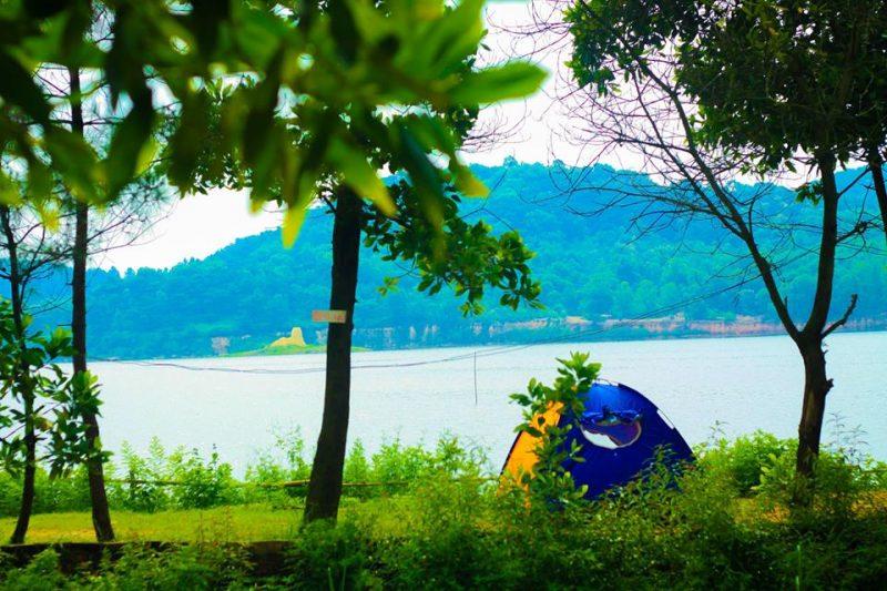 những địa điểm cắm trại quanh Hà Nội