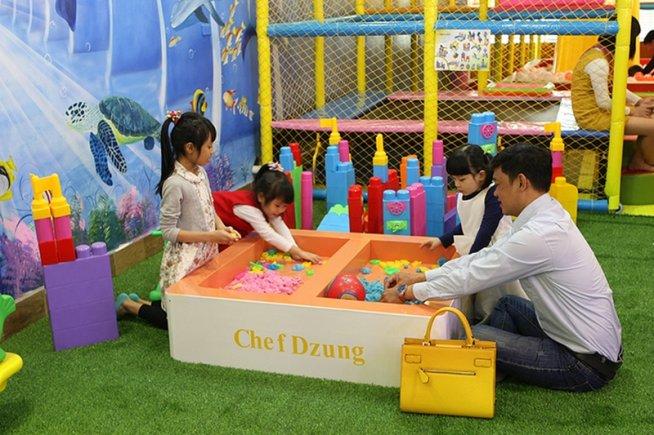 nhà hàng cho trẻ em ở hà nội