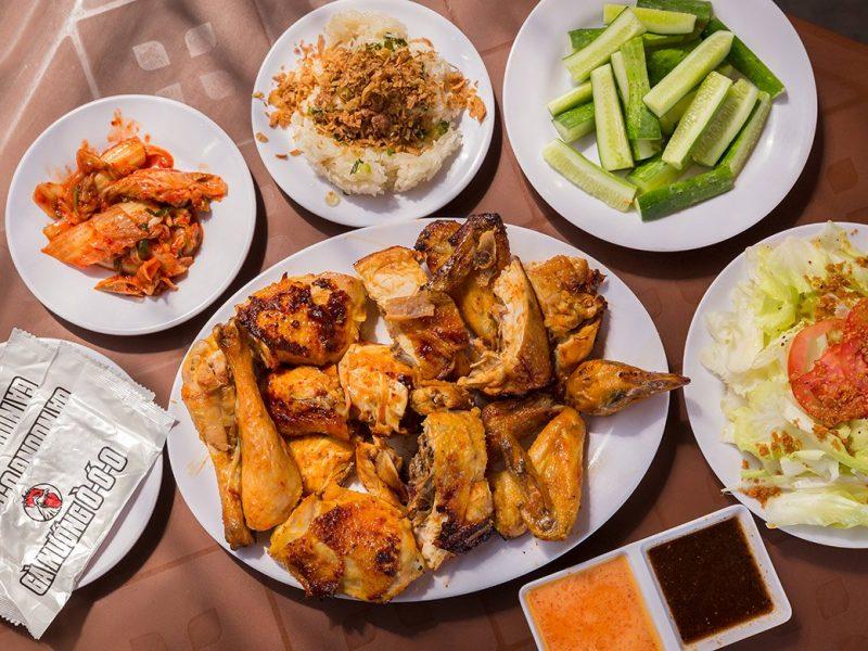 nhà hàng gà ở hà nội
