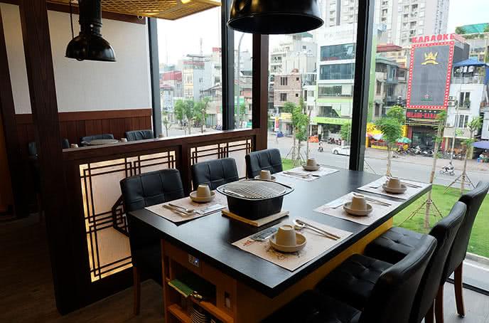 nhà hàng hàn quốc tại hà nội