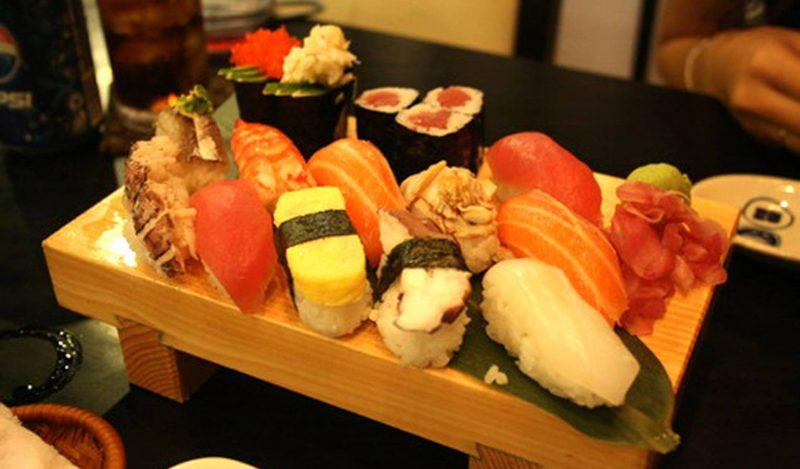nhà hàng sushi ở hà nội