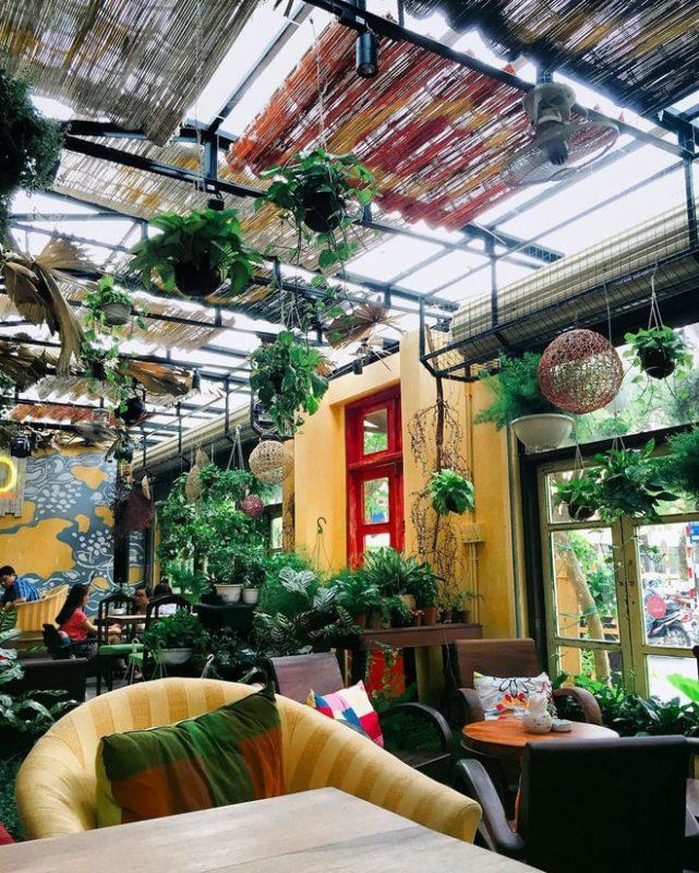 các quán cafe vườn hà nội