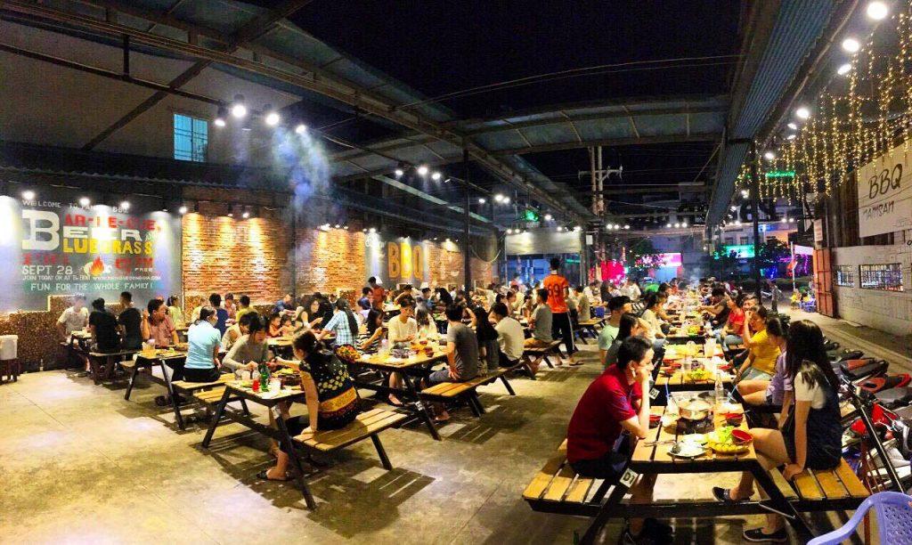 quán xiên nướng ngon ở Sài Gòn