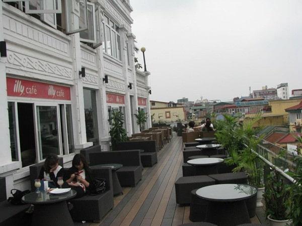 quán cafe cao nhất hà nội
