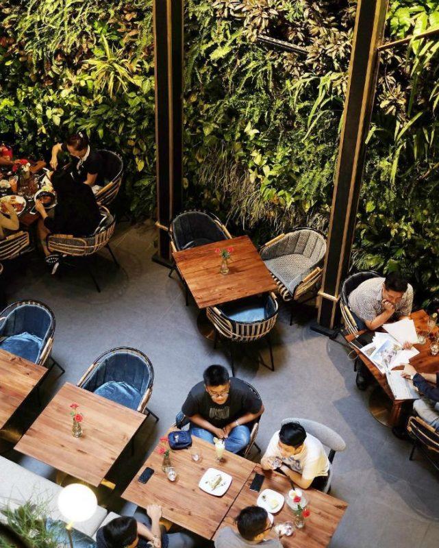 quán cafe trên cao ở hà nội giá rẻ