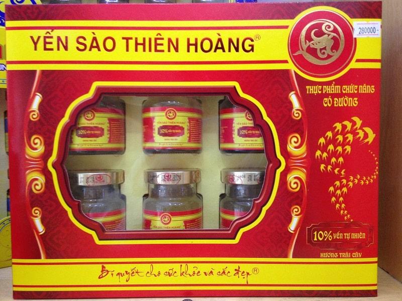 cửa hàng bán yến sào ở Sài Gòn