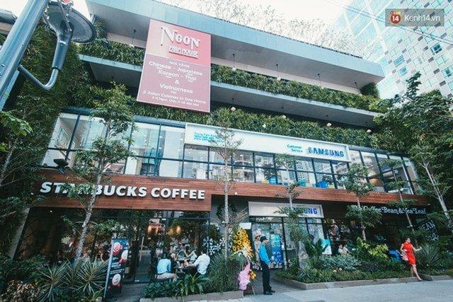 trung tâm thương mại mua sắm ở Sài Gòn