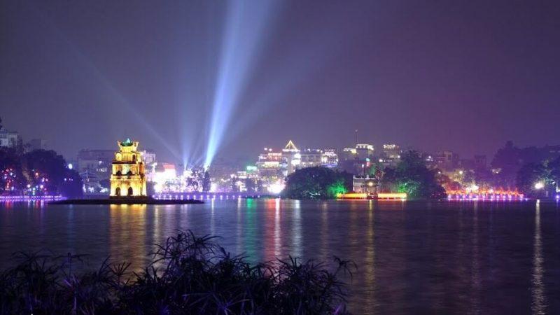 địa điểm du lịch Hà Nội về đêm