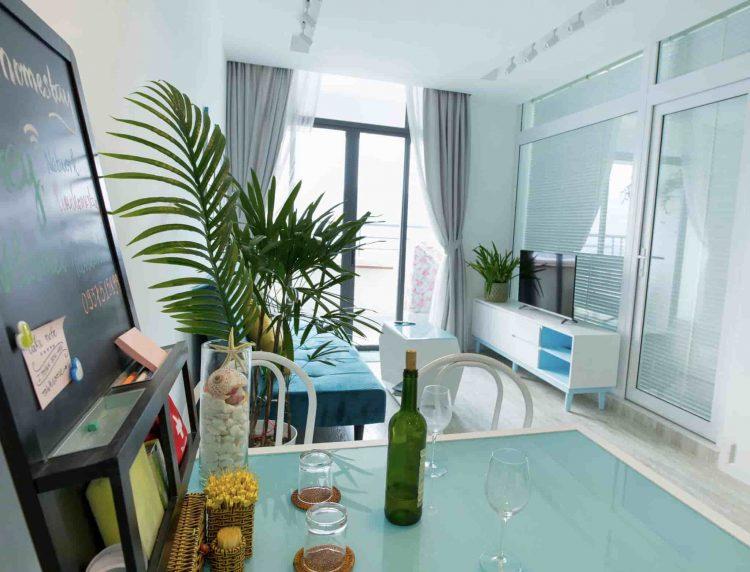 Đây là một dạng homestay căn hộ rất phù hợp với nhóm hoặc gia đình.