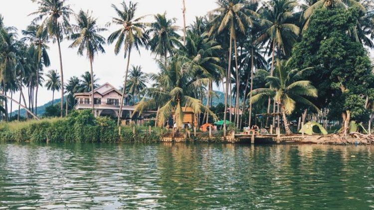 Homestay Nha Trang gần sông view cực thơ mộng