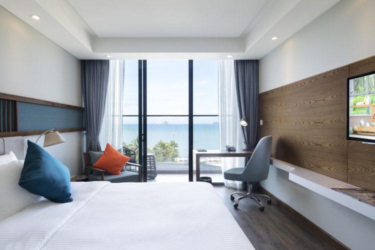 Phòng siêu tiện nghi cùng view biển cực đẹp