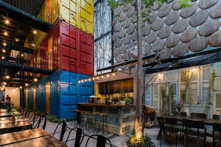 Homestay Container Tại Nha Trang