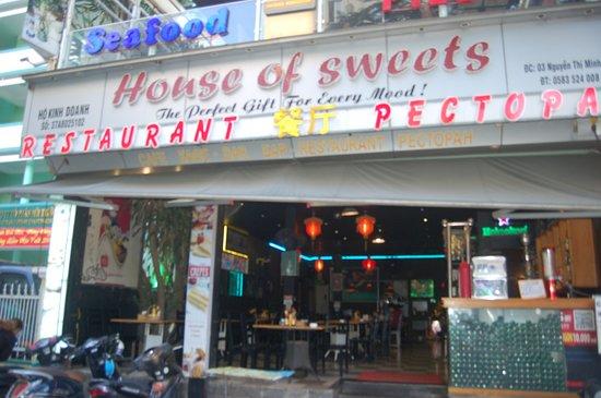 quán kem house of sweet, quán kem ngon ở Nha trang
