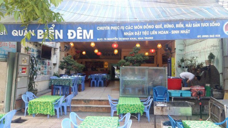 quán ăn đường Nguyễn Thị Minh Khai Nha Trang