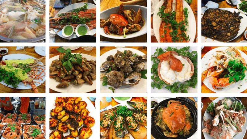 quán ăn hải sản bờ kè nha trang
