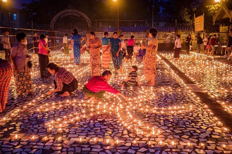 chùa Botataung Myanmar
