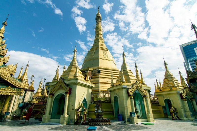 Chùa Sule Myanmar