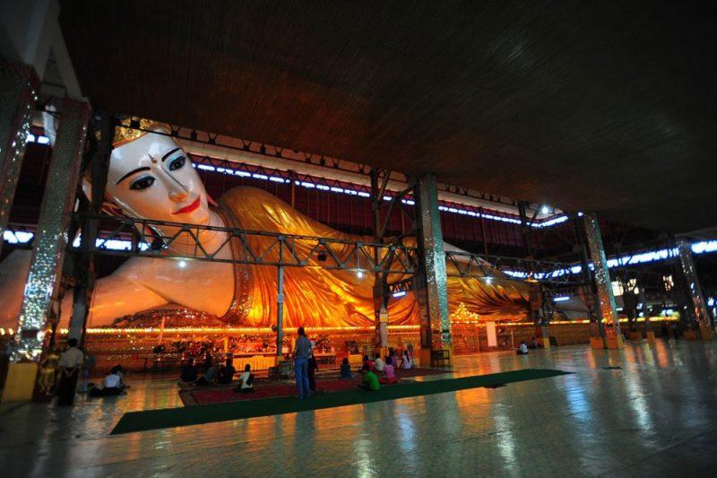 Chùa Phật Chaukhtatgyi Myanmar