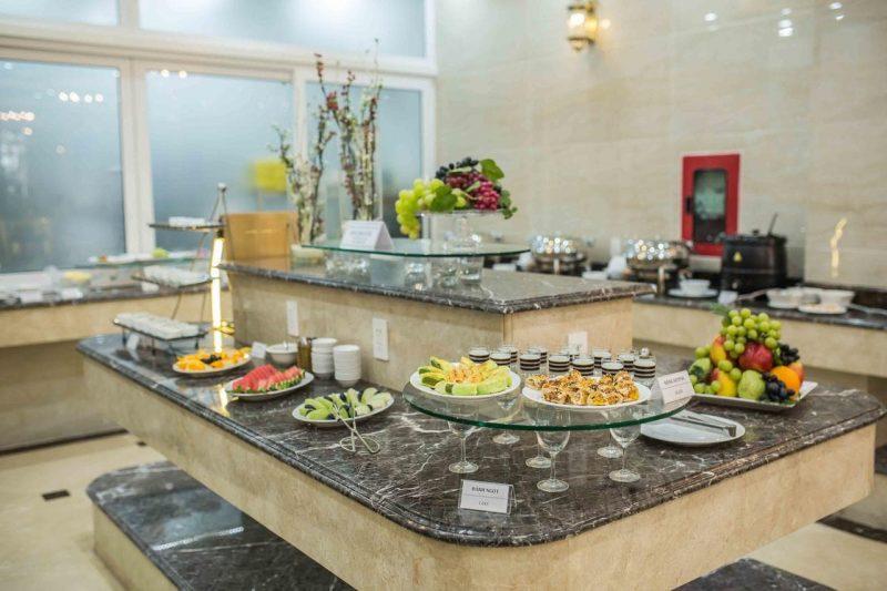 khách sạn 3 sao đà lạt có buffet sáng