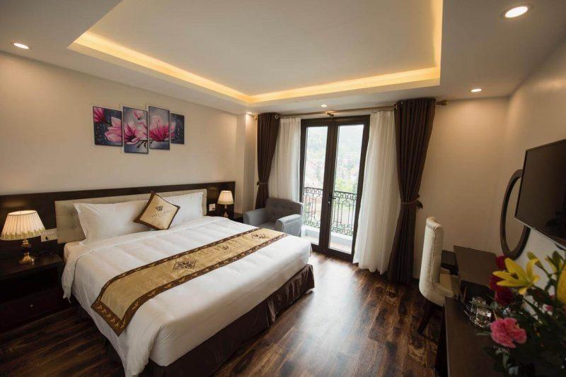 khách sạn đẹp gần trung tâm Sapa
