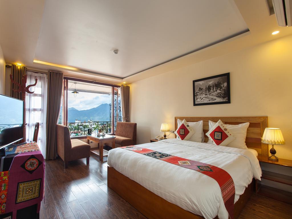 khách sạn gần núi hàm rồng sapa