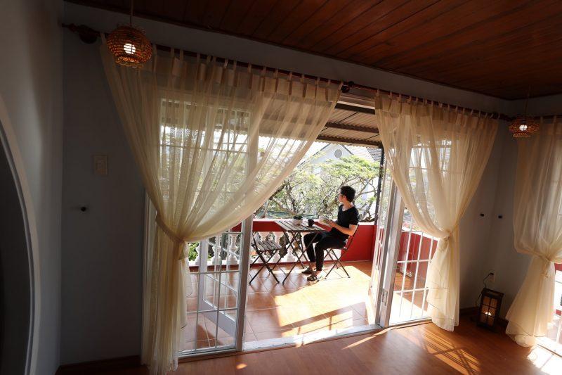 villa đà lạt có sân vườn
