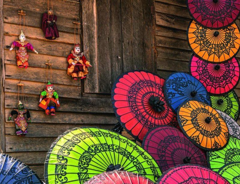 du lịch Myanmar mua quà gì