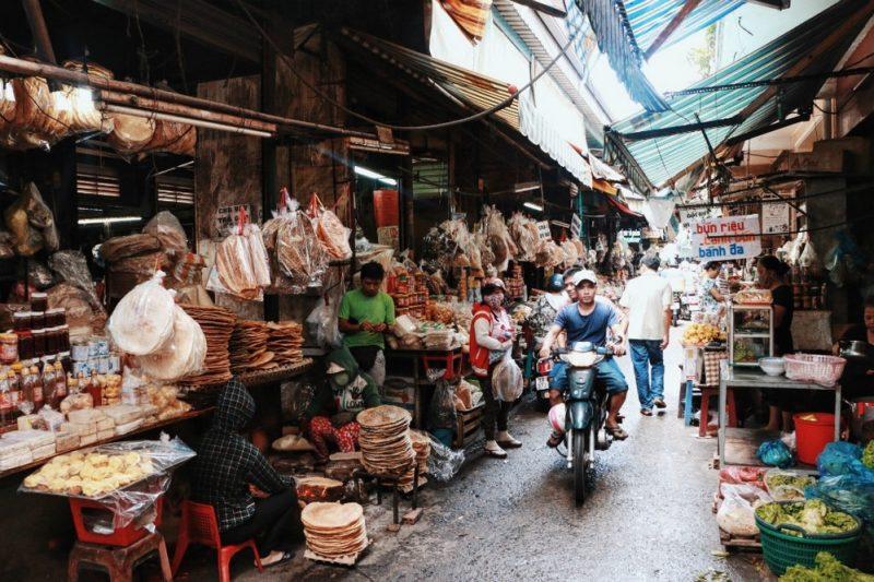 phố ăn uống ở Bangkok Thái Lan