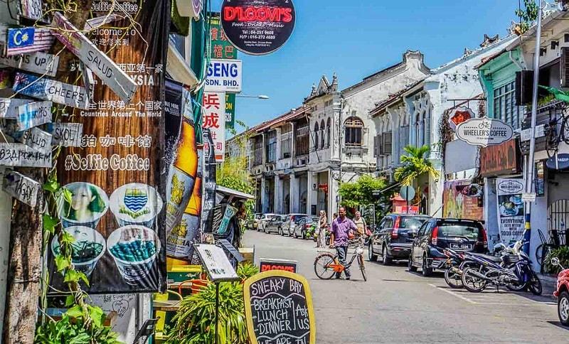 du lịch đảo penang ở Malaysia