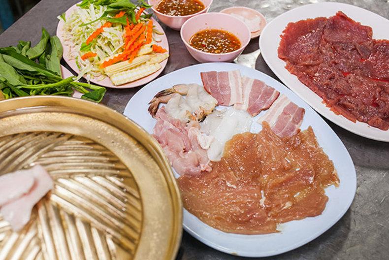 quán ăn đêm ở Bangkok