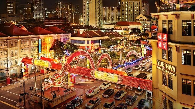 du lịch singapore dịp tết