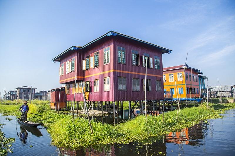du lịch hồ inle myanmar