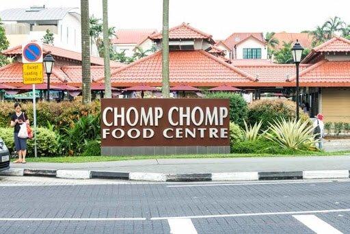 Khu Ăn Uống Ở Singapore